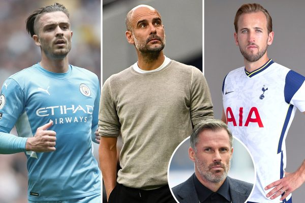 Carragher said Manchester CIty should be finished to buy Harry Kane first.