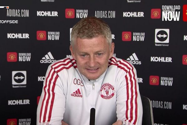 Ole Gunnar Solskjaer, manager of Manchester United, said at a press conference before meeting Leeds that the real team that was close to the warm-up game